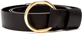 Diane von Furstenberg Ring-buckle leather belt