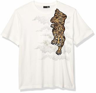 Sean John Men's Tiger Prowl Short Sleeve Crew Neck Tee