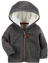 Carter's Baby Boys' Zip Up Fleece Hoodie