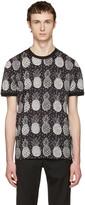 Dolce & Gabbana Black Pineapple T-Shirt