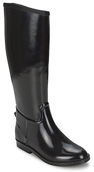 BeOnly Be Only CAVALIERE NOIR women's Wellington Boots in Black