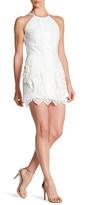 Greylin Chelsi Lace Fringe Dress