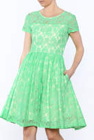 Apricity Mint Lace Dress