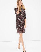 White House Black Market Geometric Printed Dress