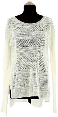 Helmut Lang White Linen Knitwear for Women