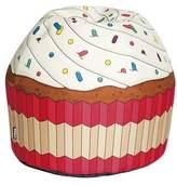 Giant Cupcake Bean Bag Chair - Vanilla
