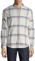 Farah Naphill Printed Cotton Sportshirt