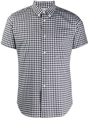 Comme des Garçons Shirt Gingham-Check Button-Down Shirt