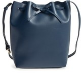 Sole Society 'Blackwood' Faux Leather Bucket Bag - Blue