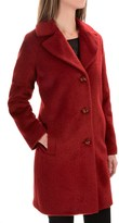 Kristen Blake Wool-Alpaca Blend Notch-Collar Coat (For Women)