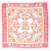 Hermes Early America Silk Scarf