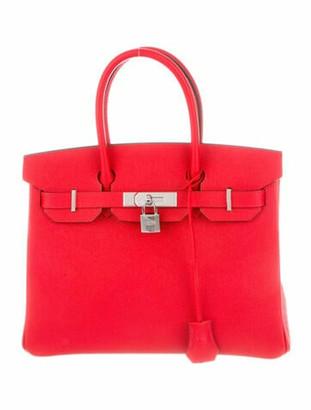 Hermes 2019 Epsom Birkin 30 Rouge