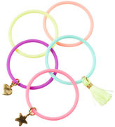 Carter's 5-Pack Rubber Charm Bracelets