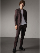 Burberry Slim Fit Wool Mohair Suit , Size: 44r, Brown