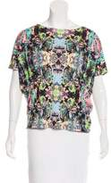 Mara Hoffman Printed Short Sleeve Top