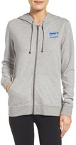 Patagonia Women's Shop Sticker Zip Hoodie