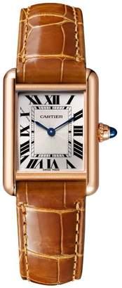 Cartier Small Pink Gold Tank Louis Watch 22mm
