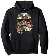 Star Wars Unisex Tropical Stormtrooper Floral Print Hoodie 2XL Black