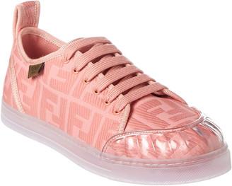 Fendi Jacquard Ff Motif Fabric Sneaker