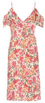 LPA Printed silk dress