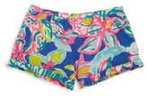 Lilly Pulitzer Girl's Printed Cotton Shorts
