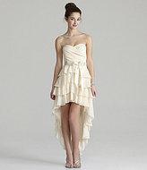 Teeze Me Sweetheart Tiered Hi-Low Dress