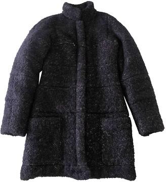 Chanel Purple Silk Coats