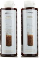 Korres Rice Proteins and Linden Shampoo Duo