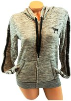 Victoria's Secret PINK Bling Sequins Full Zip French Terry S Hoodie