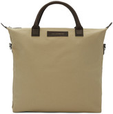 WANT Les Essentiels Beige Canvas O'Hare Tote