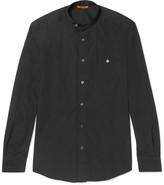 Barena - Grandad-collar Cotton-poplin Shirt