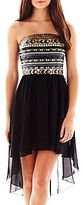JCPenney Love Reigns Sequin High-Low Dress