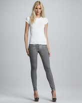 Paige Verdugo Gold Skinny Jeans