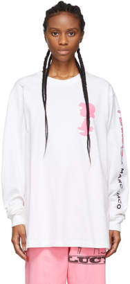 Marc Jacobs White Peanuts Edition Lucy Long Sleeve T-Shirt