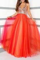Tony Bowls Le Gala V-Neck Ball Gown