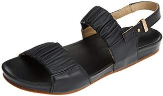 Neosens Women's S955 Restored Skin Ebony/LAIREN Open Toe Sandals, Black