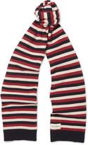 Oliver Spencer - Benu Striped Wool Scarf
