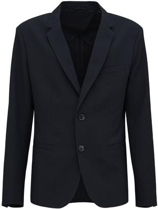 Armani Exchange Stretch Nylon Blend Jacket