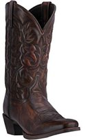Laredo Mens Emporia Leather Cowboy Boots 12in Square Toe 10.5 D