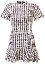 Sandy Liang Tweed Short Sleeve Dress