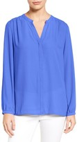 NYDJ Petite Women's Pleat Back Blouse