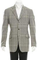 Etro Houndstooth Wool Blazer