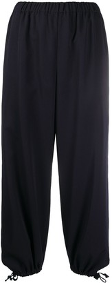 COMME DES GARÇONS GIRL Cropped Tapered-Leg Trousers