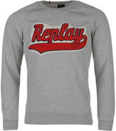 Replay Collegic Crew Neck Sweatshirt