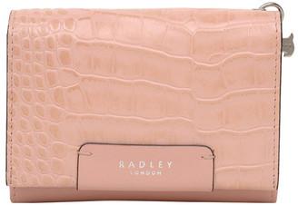 Radley Arlington Court - Faux Croc Medium Flapover Purse