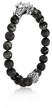 John Hardy Men's Sterling Silver Leather Legends Bracelet
