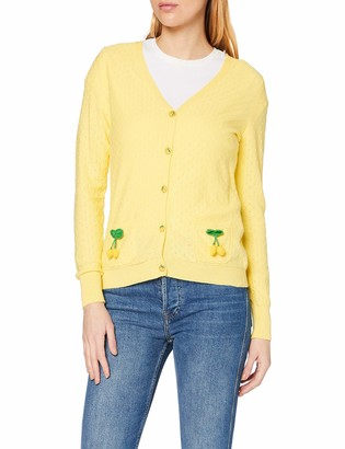Joe Browns Women's Lemon Cardigan Sweater 8
