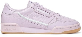 adidas Continental 80 Perforated Textured-leather Sneakers