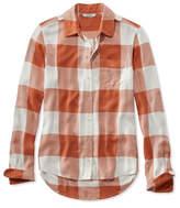 L.L. Bean Signature Drapey Button-Front Shirt