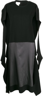 Maison Margiela Contrast Panel Dress